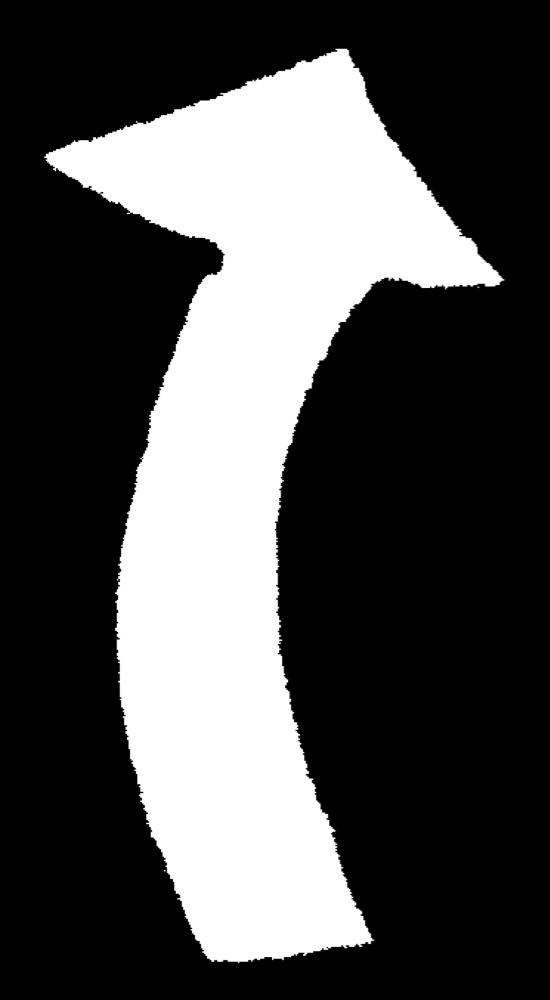 矢印(上)Arrow upのイラスト Illustration