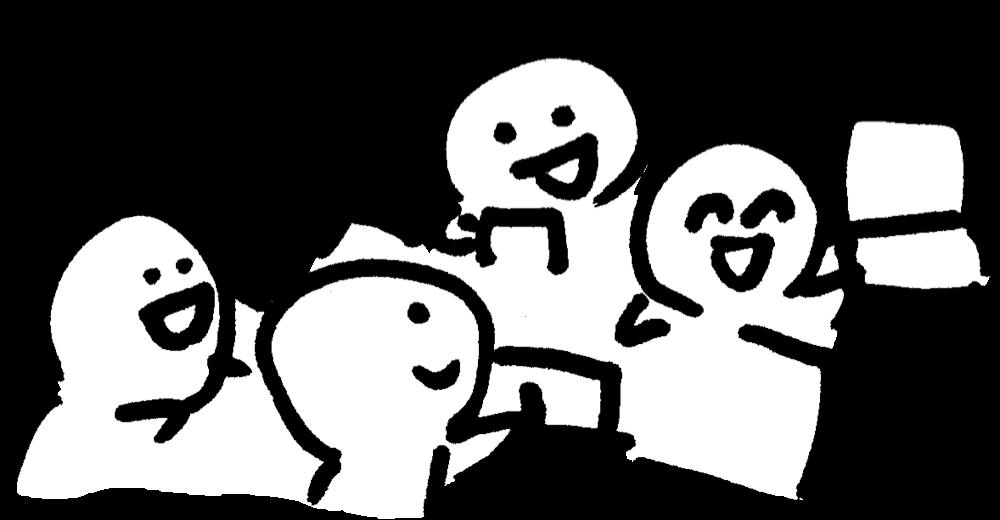 話し合い Meetingのイラスト