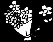 花束 bouquetのイラスト