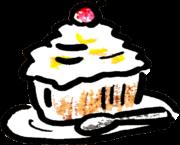 ケーキ Cakeのイラスト
