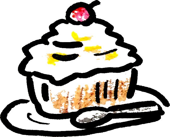 おいしいケーキ sweet Cakesのイラスト Illustration