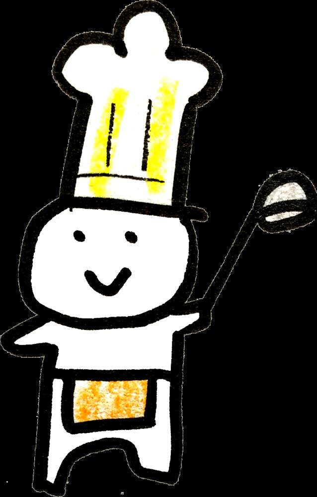 コックさん(男)Cook menのイラスト Illustration