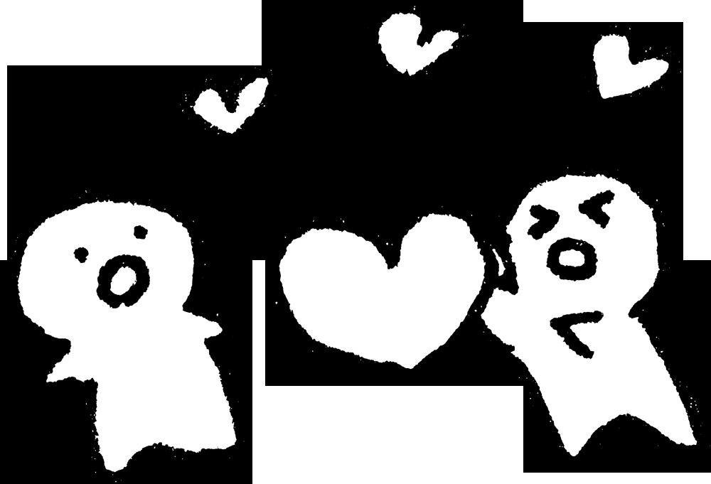 ハートを渡す_heart2