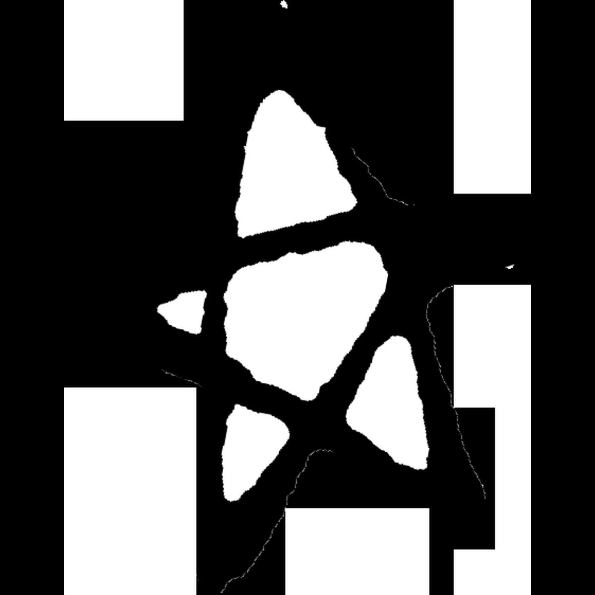 星印(線)3のイラスト Stars mark 1 Illust