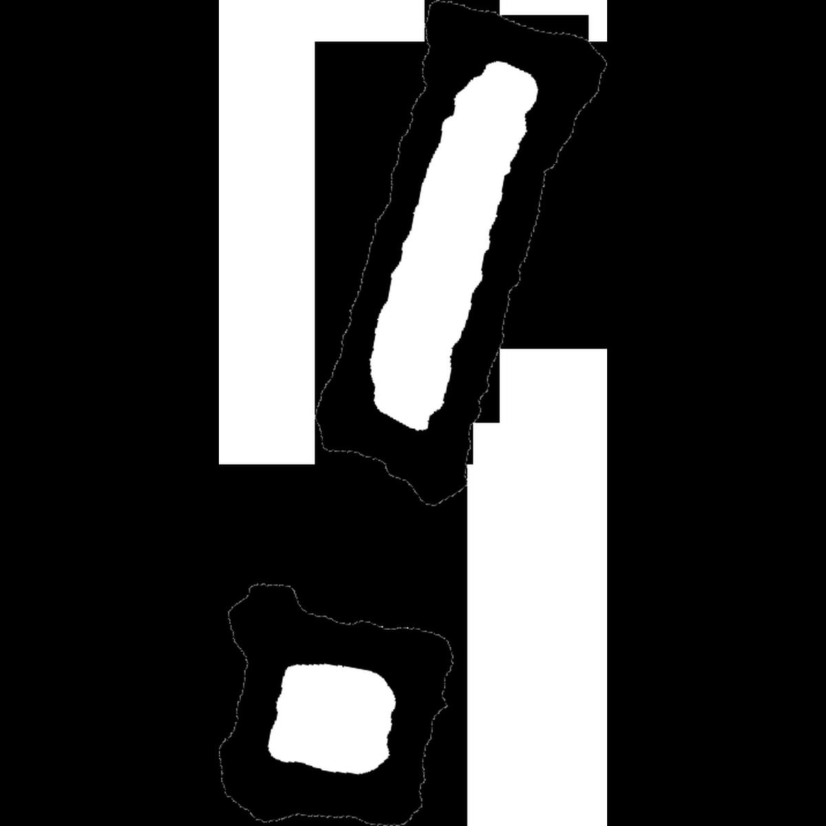 ビックリマーク1のイラスト Exclamation mark Illust