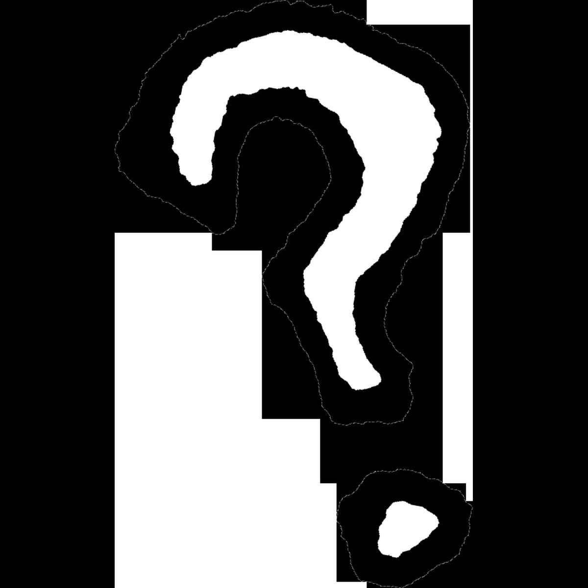 はてなマーク3のイラスト Question mark Illust