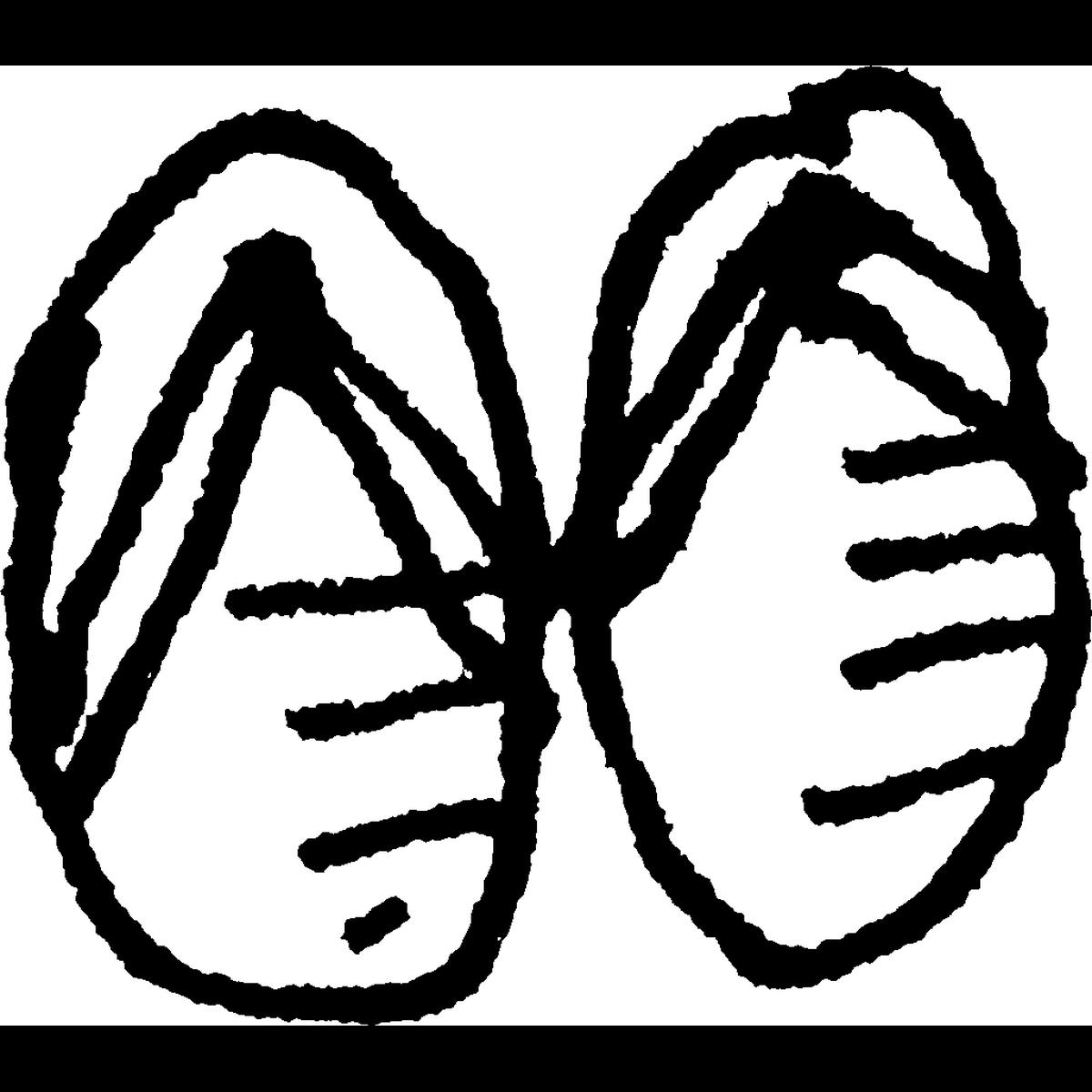草履(ぞうり)のイラスト