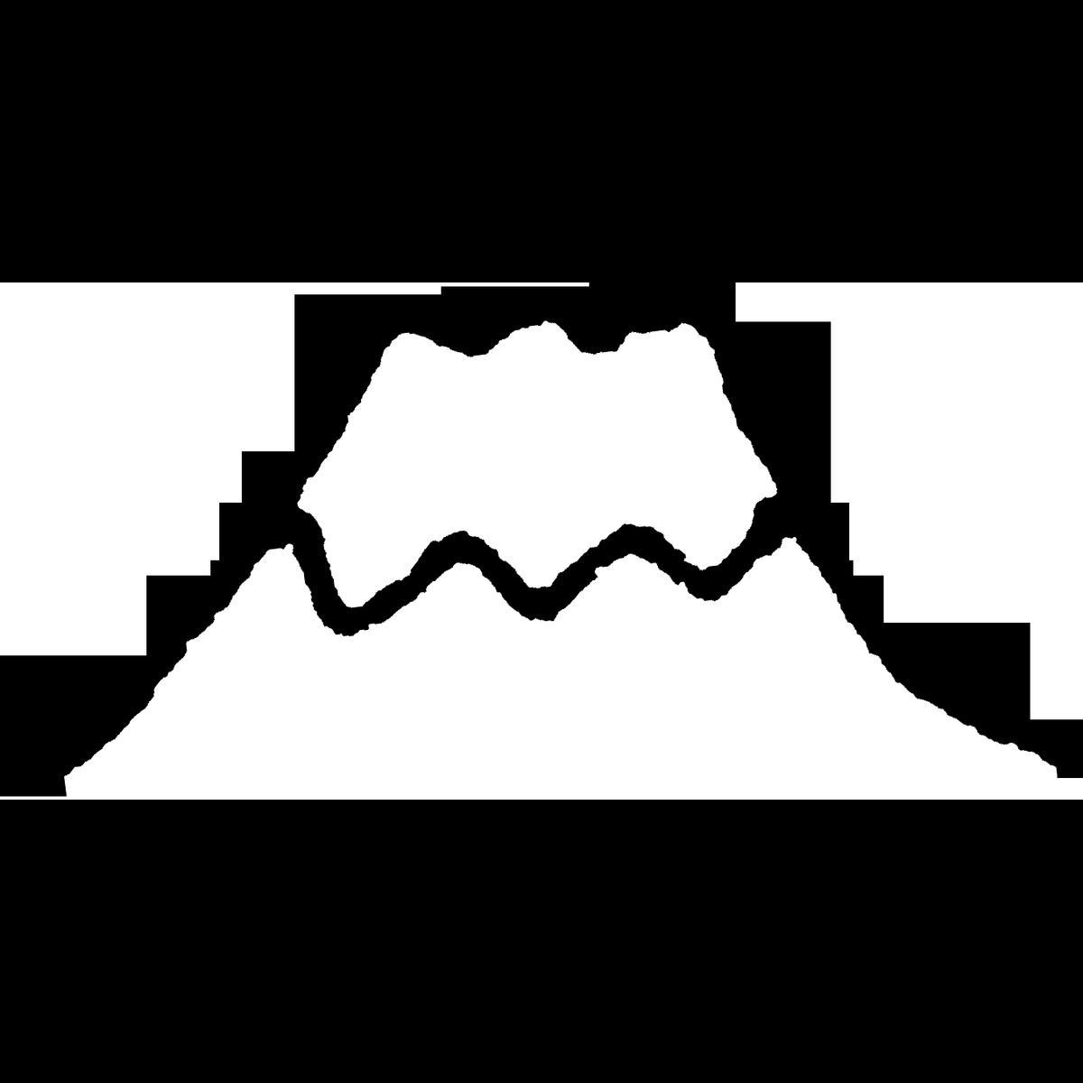 富士山のイラスト Mount Fuji Illust