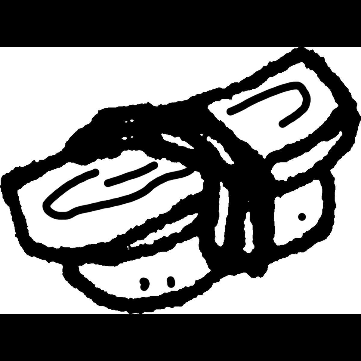 寿司 にぎり タマゴのイラスト Sushi Egg Illust