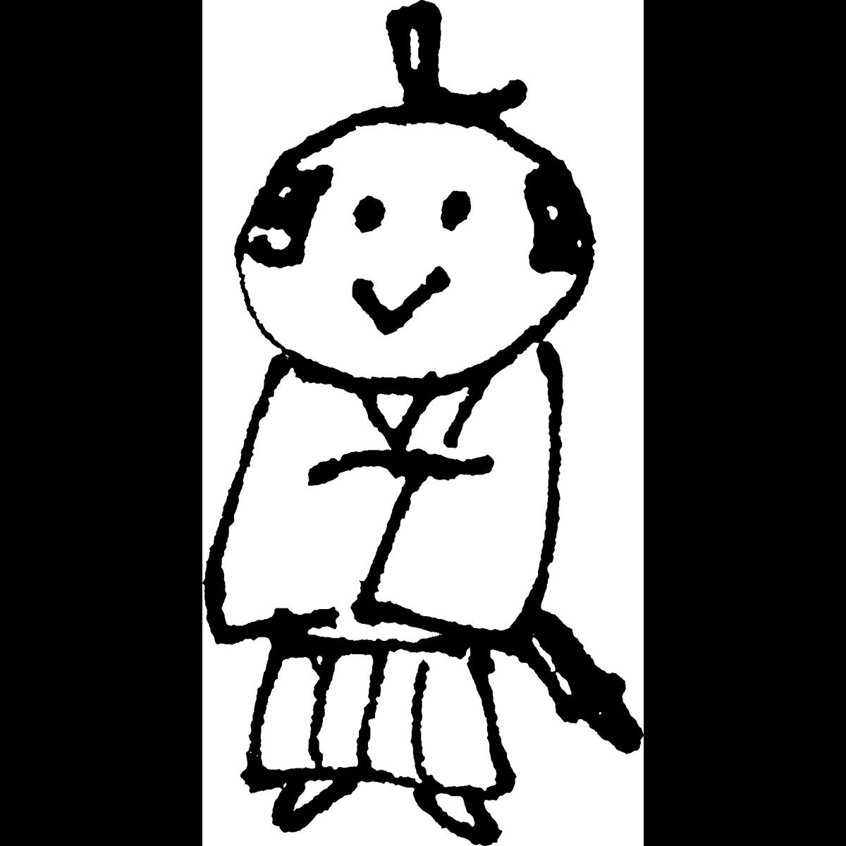 侍 腕を組むのイラスト Samurai Cross arms Illust