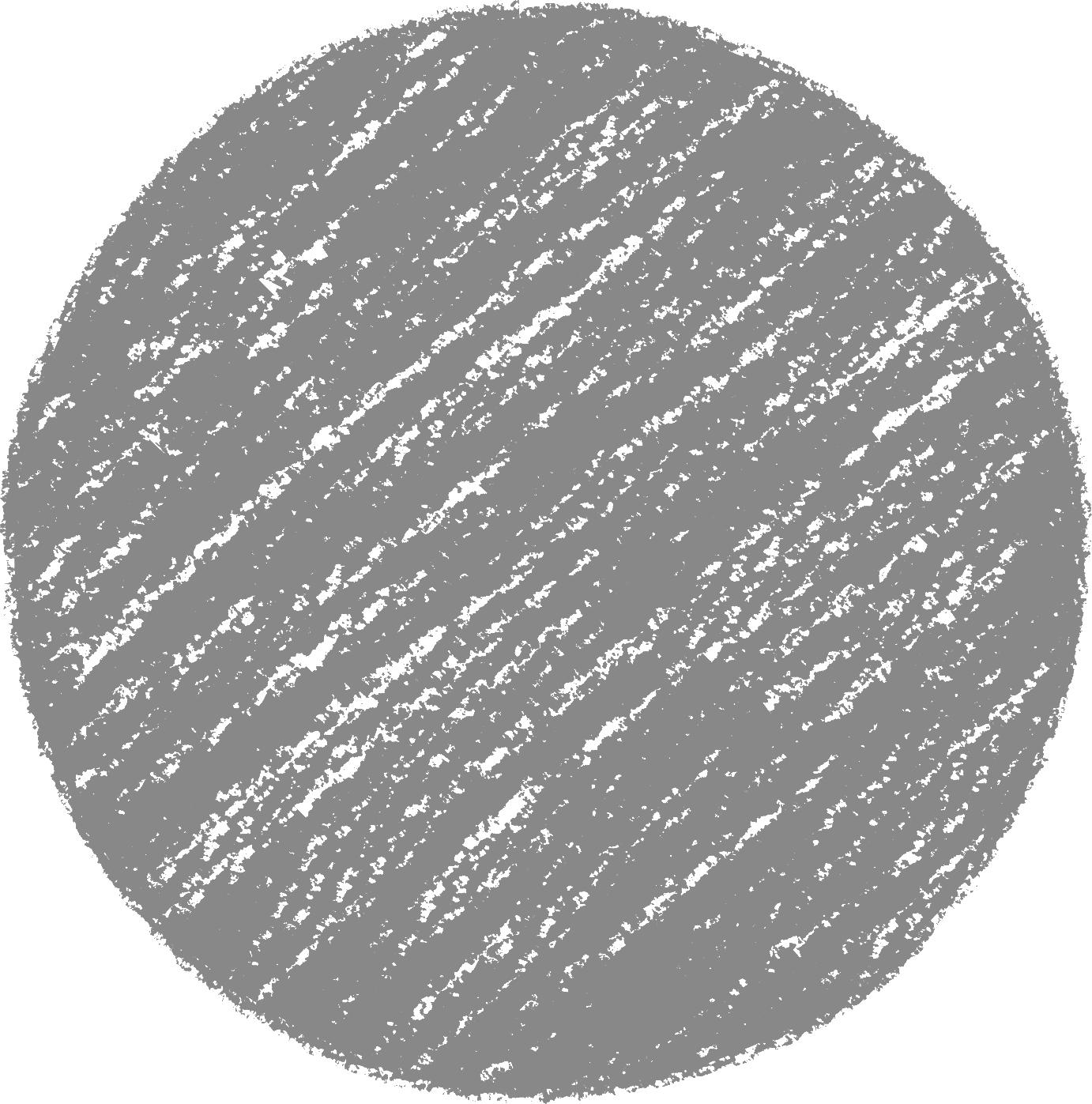 クレヨン塗り背景 新 ねずみ色(グレー)丸のイラスト sircle_gray