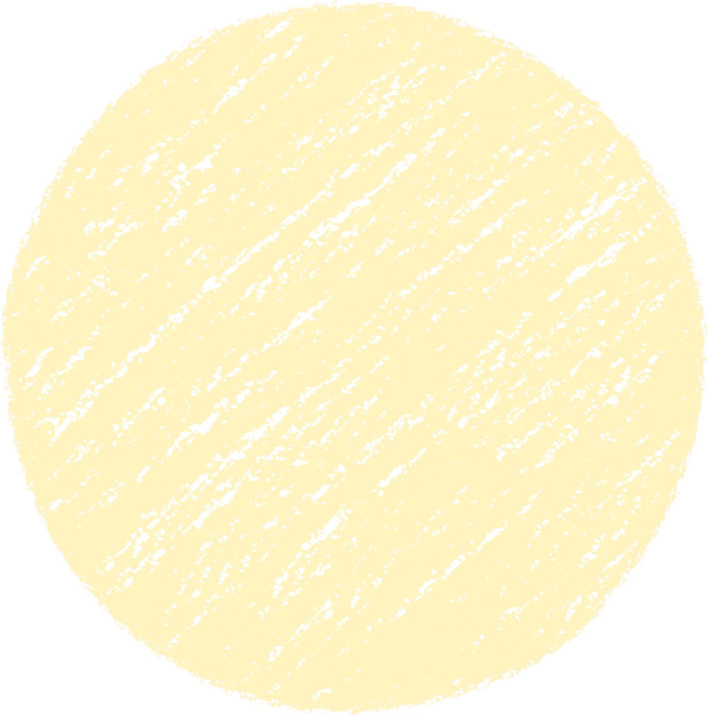 クレヨン塗り背景 黄色 新(イエロー)丸 パステル のイラスト sircle_yellow