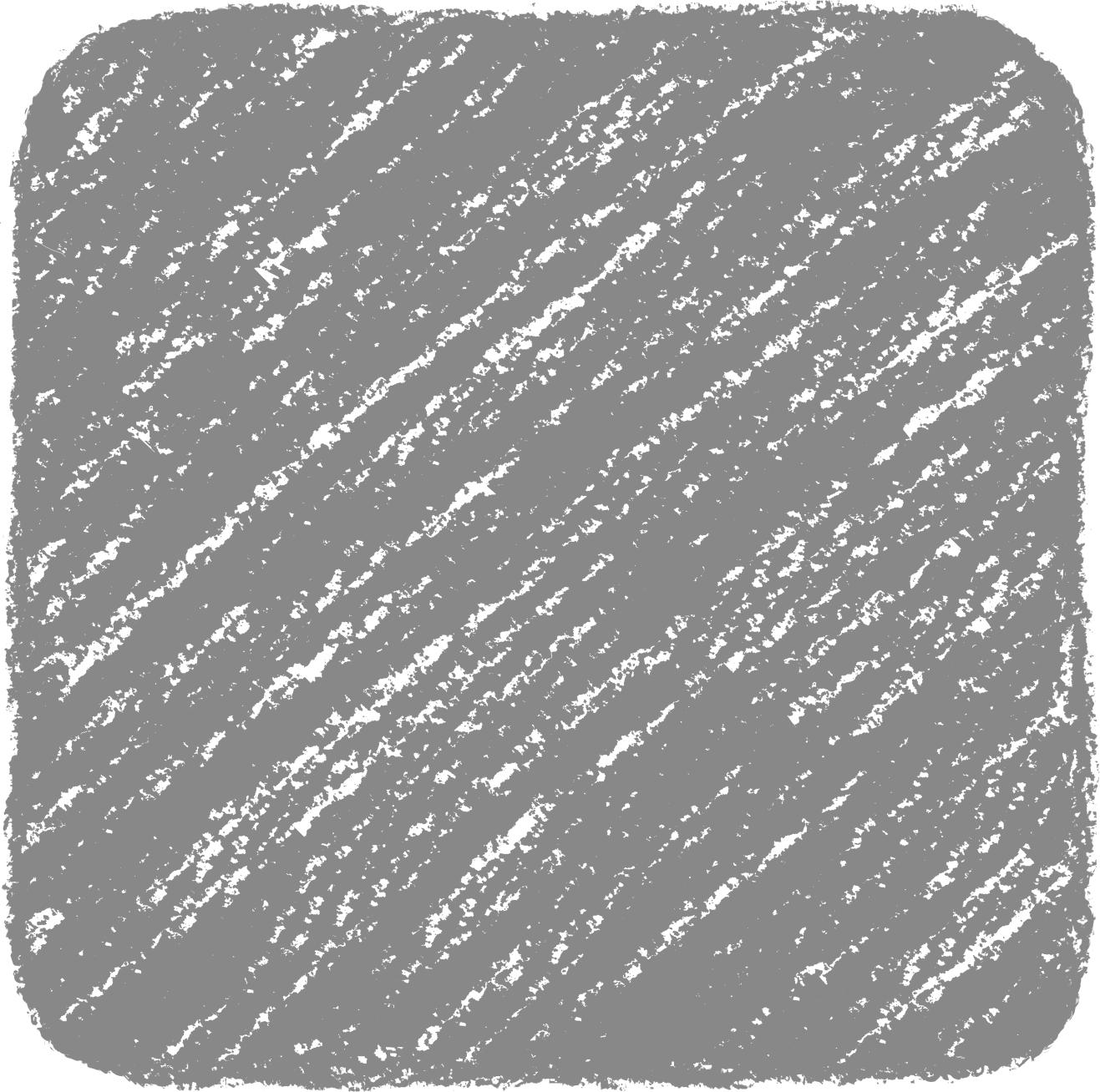 クレヨン塗り背景 ねずみ色 新(グレー)四角のイラスト square_gray