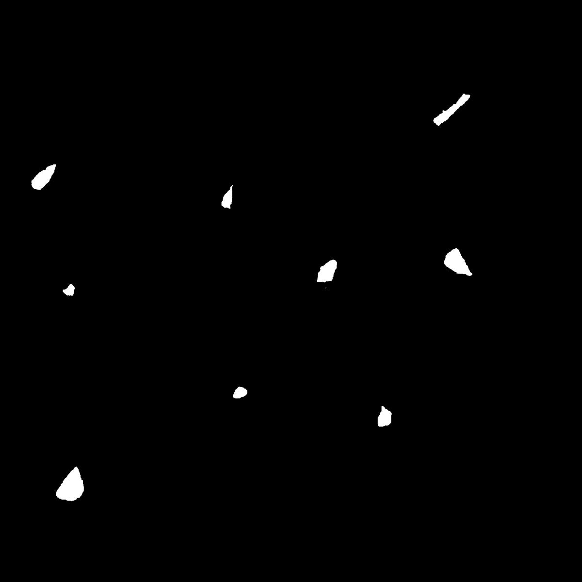 紙吹雪のイラスト / confetti Illustration