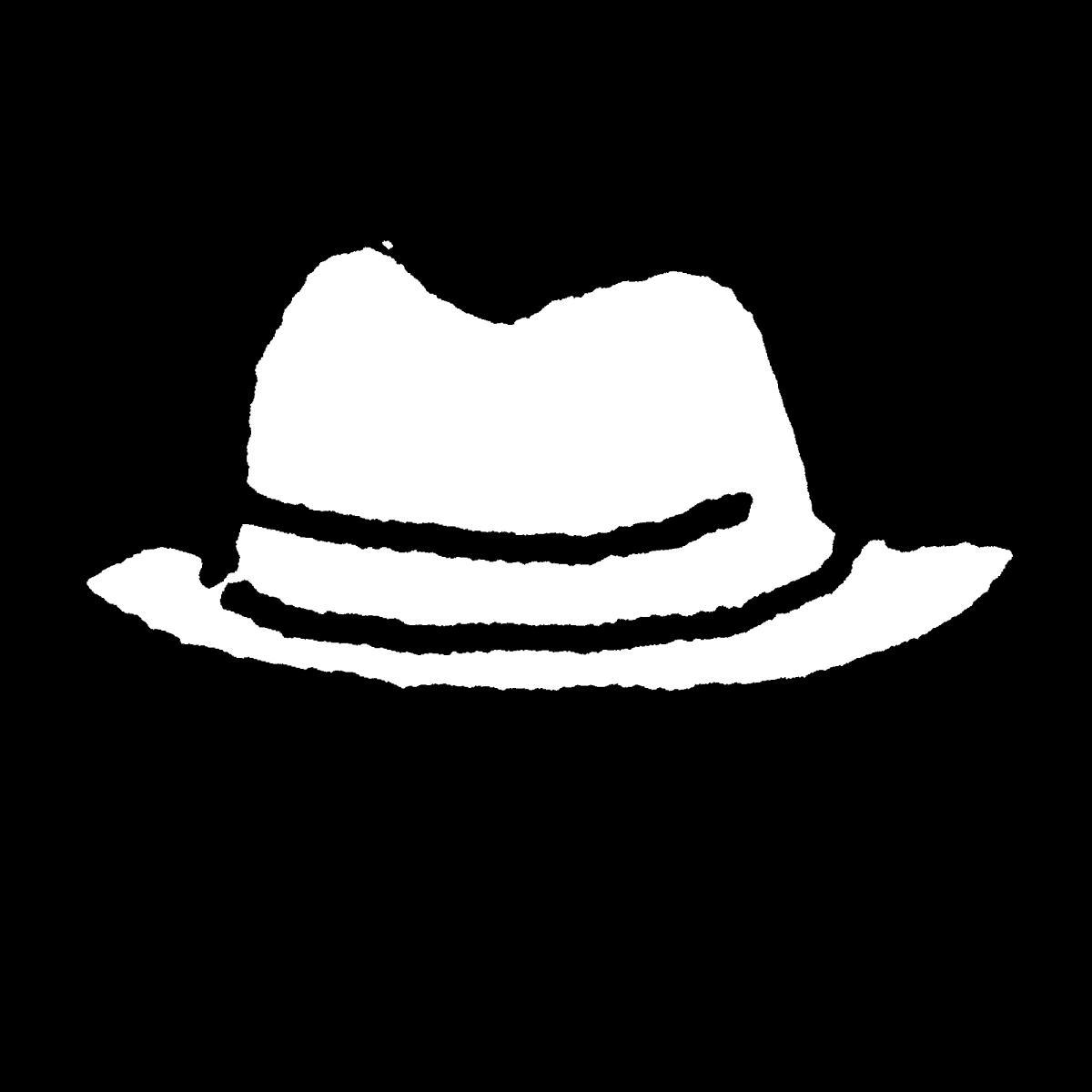 帽子(ハット)のイラスト / Hat (hat) Illustration