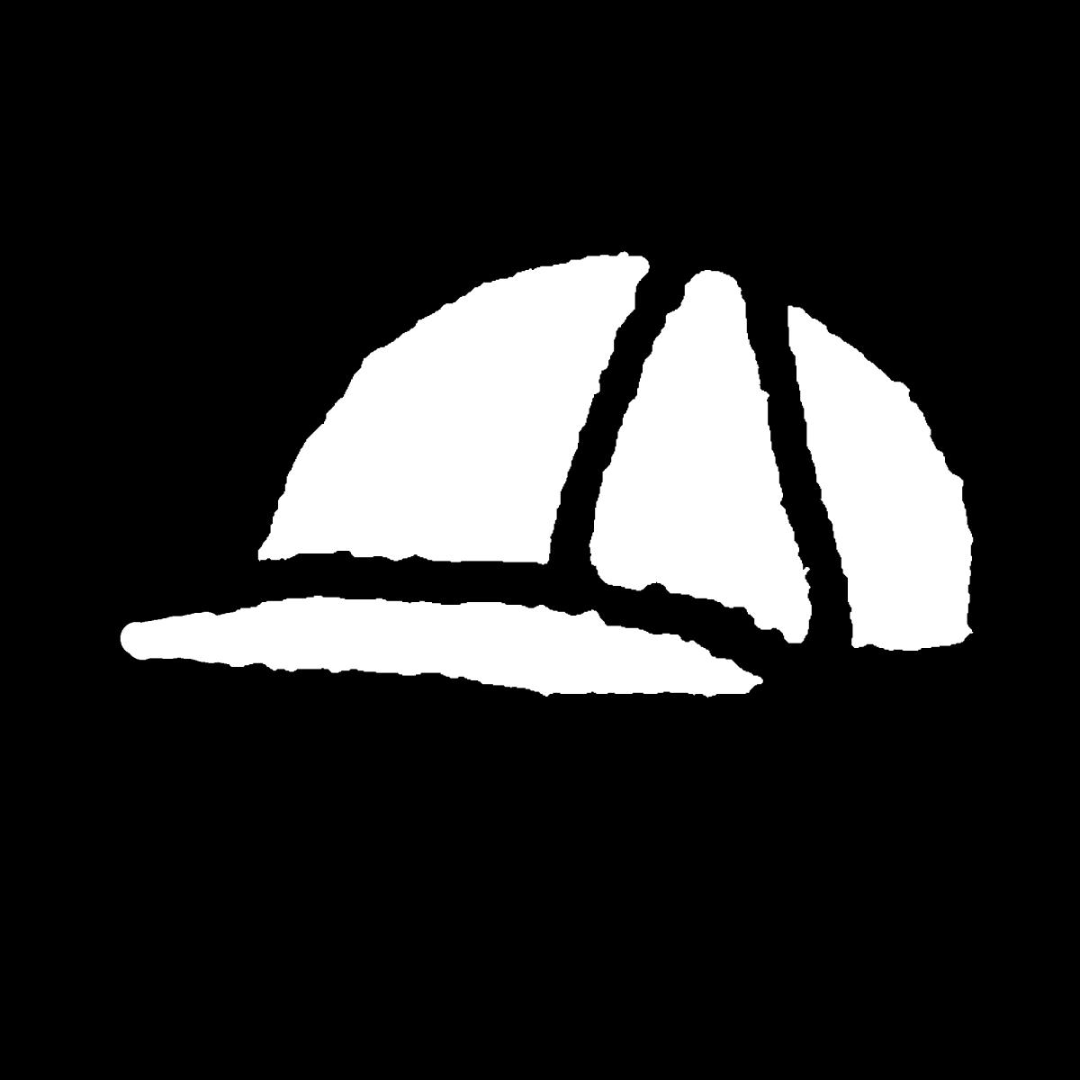 帽子(キャップ)のイラスト / Hat (cap) Illustration