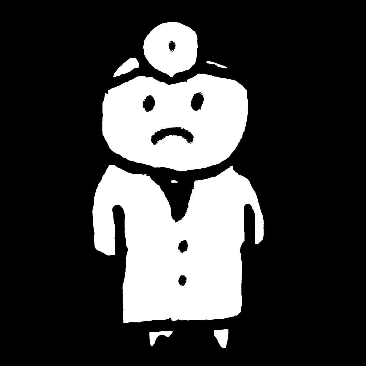 医師2のイラスト / Doctor 2 Illustration