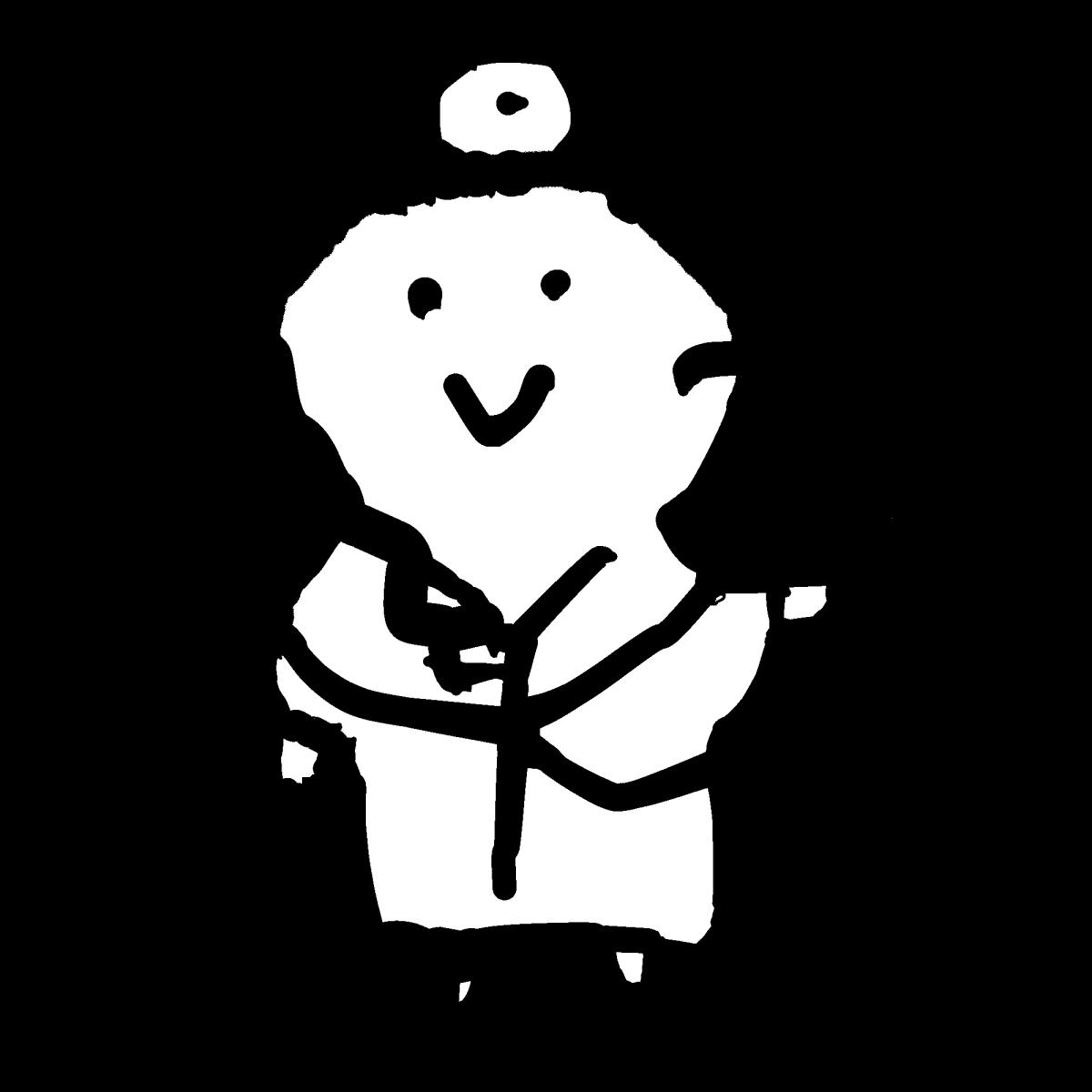 医師3のイラスト / Doctor 3 Illustration
