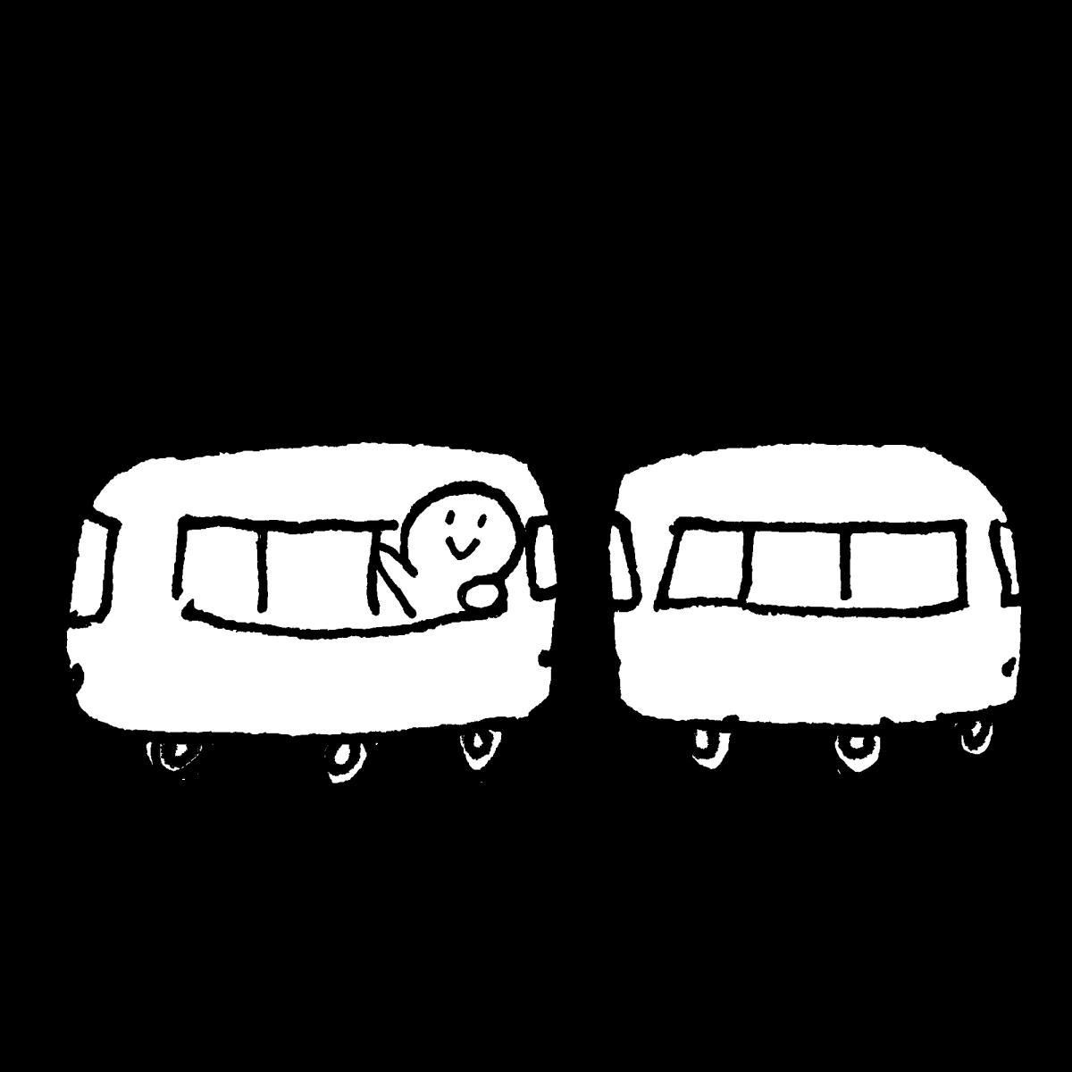 電車のイラスト / electric train Illustration