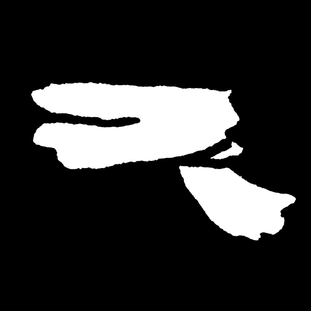 マフラー(3種)のイラスト Muffler (3kinds)  Illustration