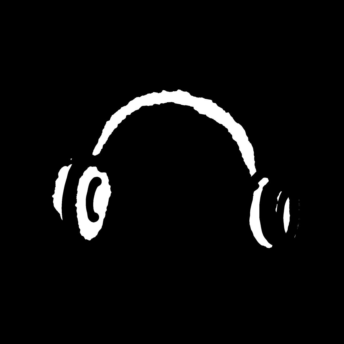 ヘッドホンのイラスト / headphone Illustration