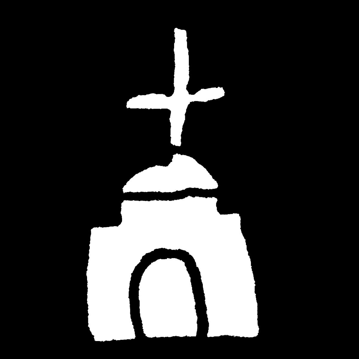 教会のイラスト Church  Illustration