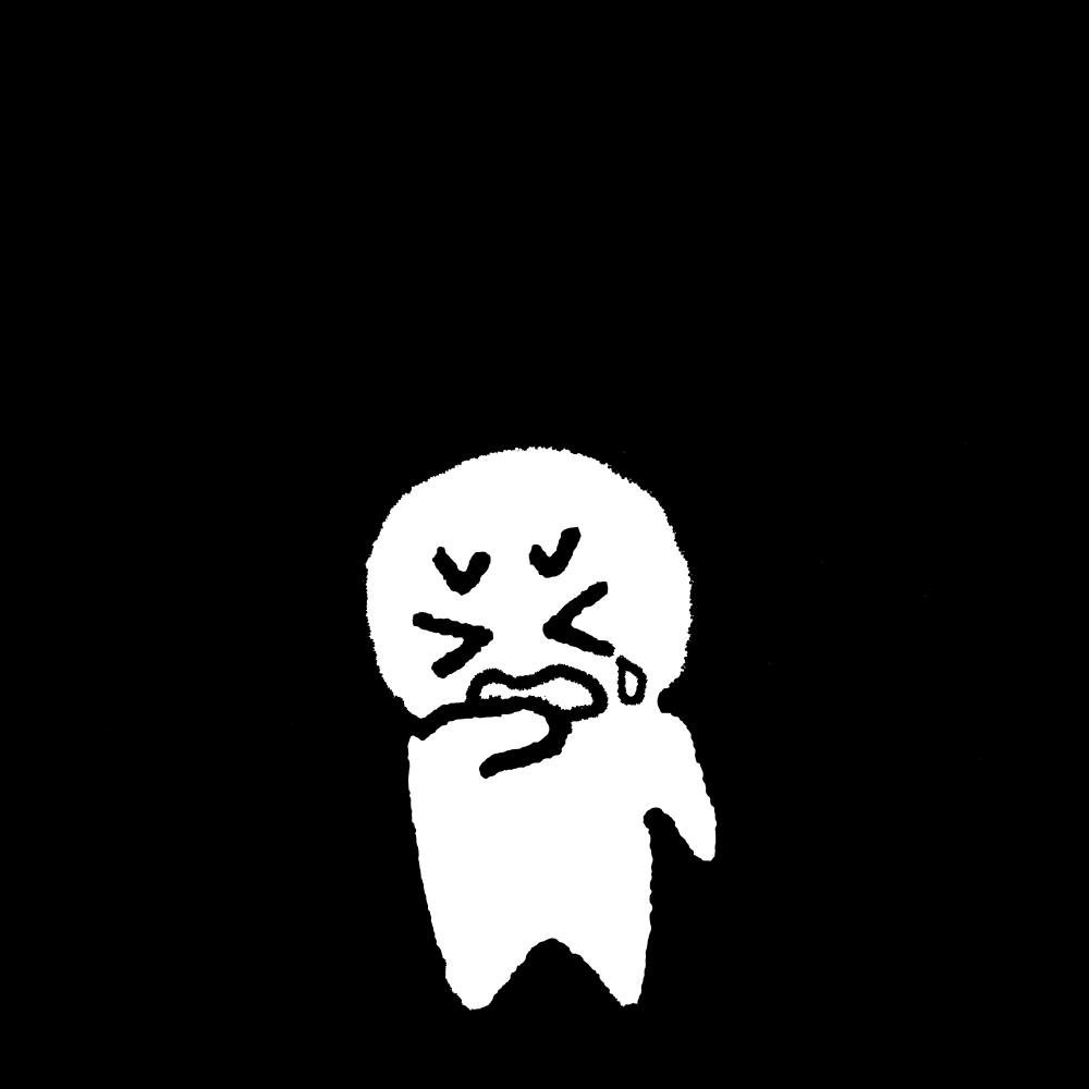 不合格のイラスト / Rejected Illustration