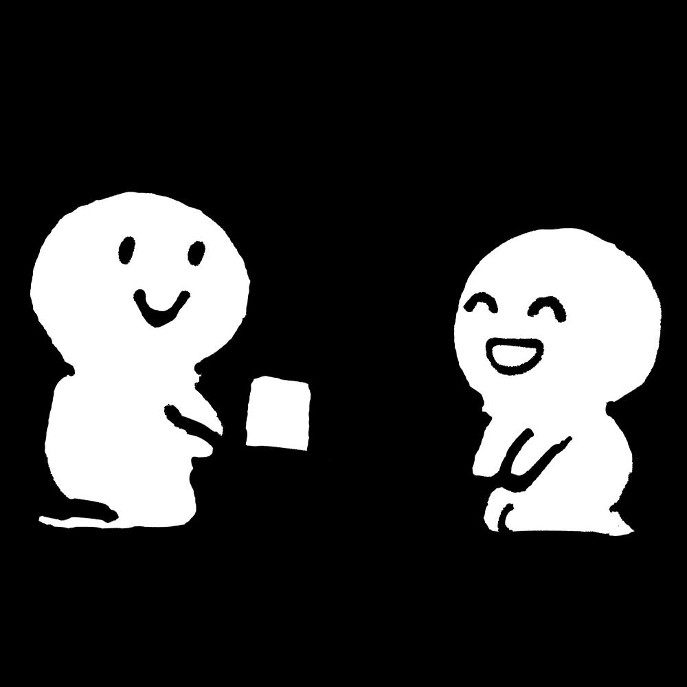 お茶でおもてなし2のイラスト Omotenashi with tea 2  Illustration