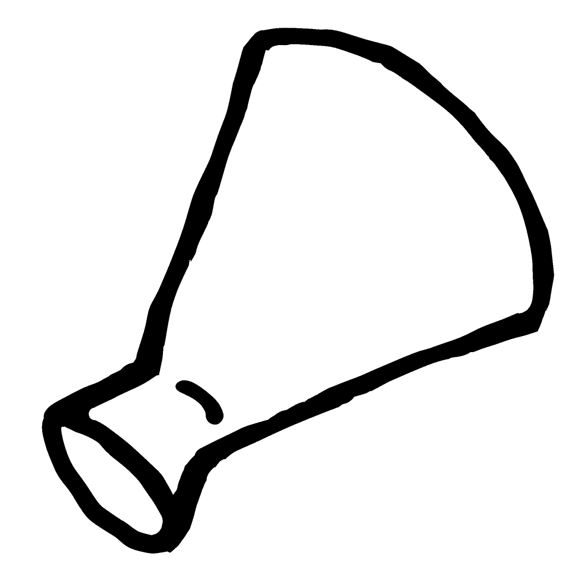 メガホンのイラスト megaphone  Illustration