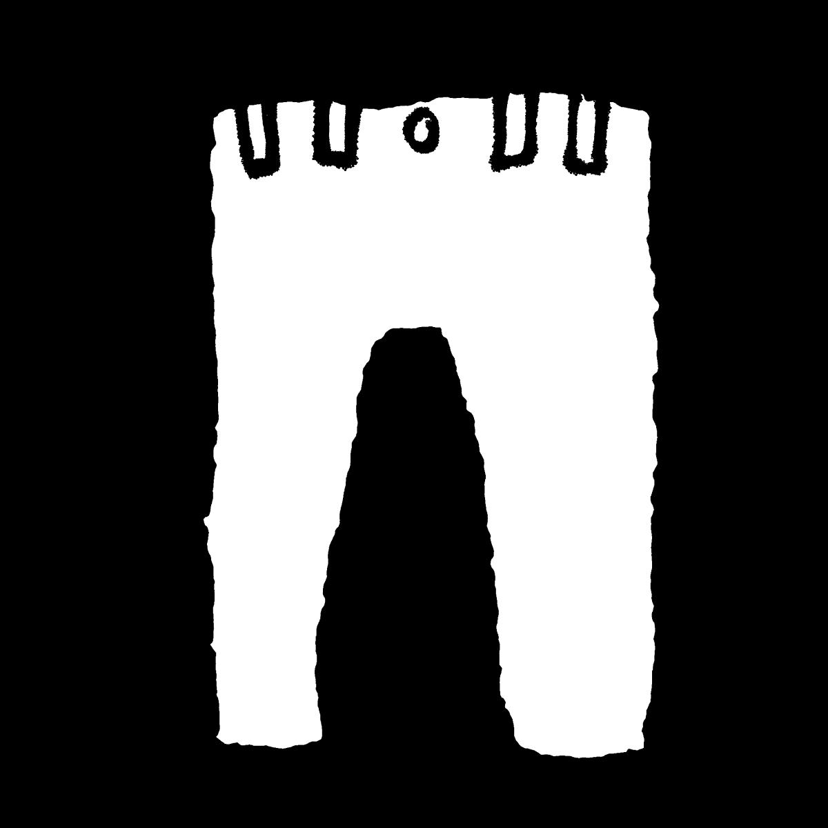 パンツのイラスト / Underpants Illustration