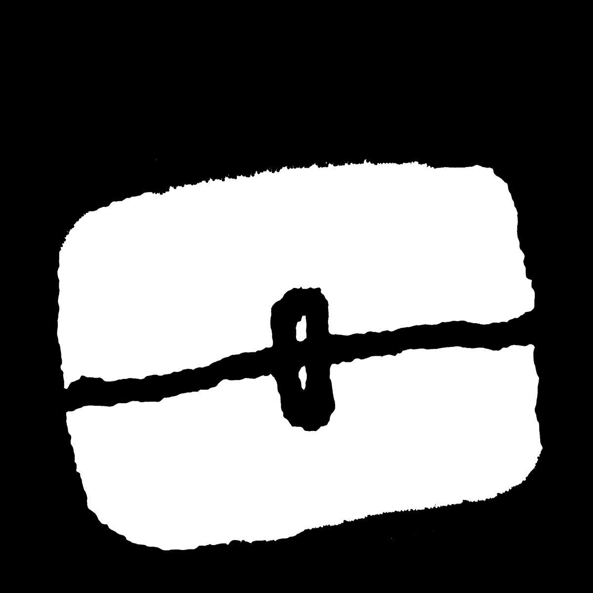 ビジネスバッグ2のイラスト / Business bag 2 Illustration