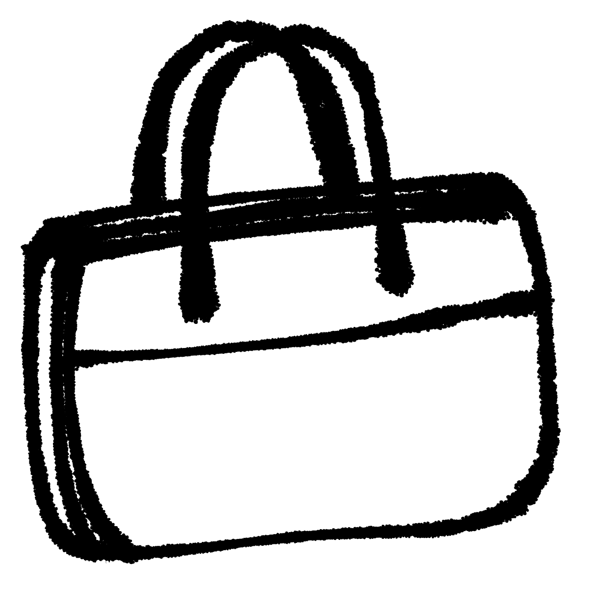 ビジネスバッグ1のイラスト / Business bag 1 Illustration