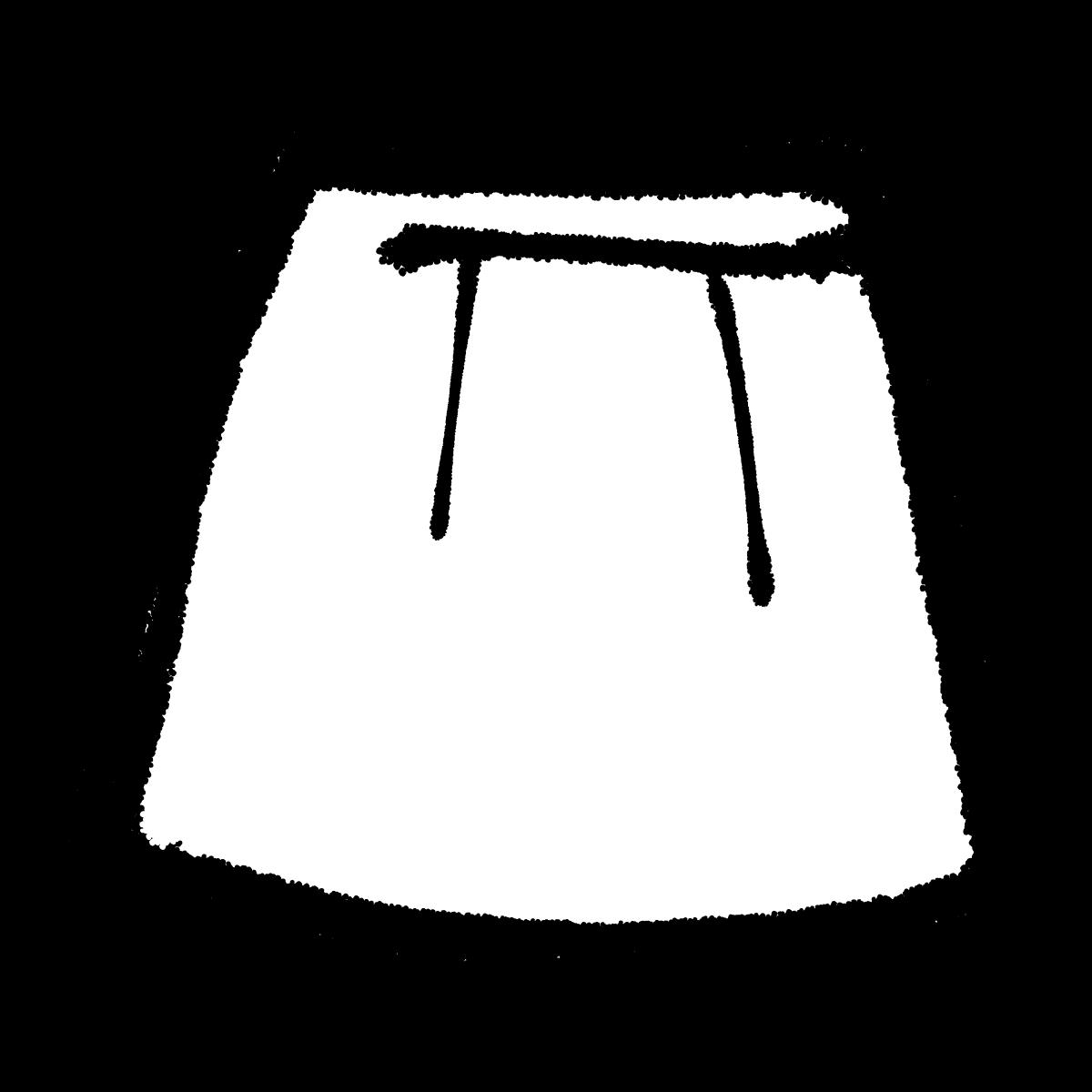 スカートのイラスト Skirt  Illustration