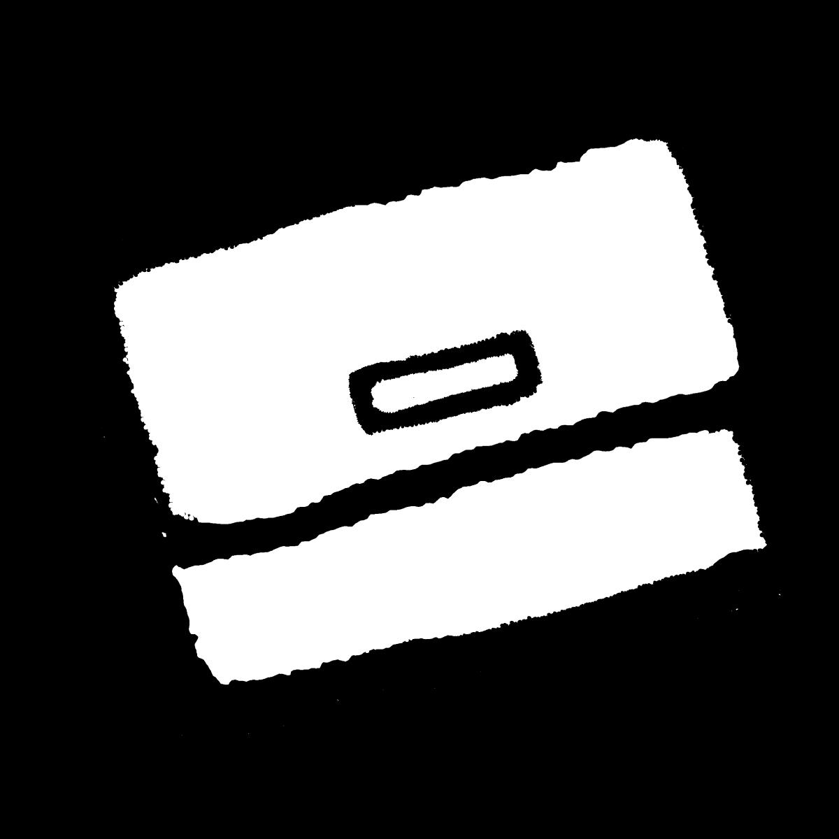 名刺入れのイラスト / Card case Illustration