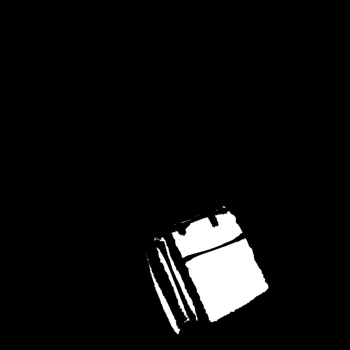 斜めバッグ1のイラスト / Diagonal bag Illustration