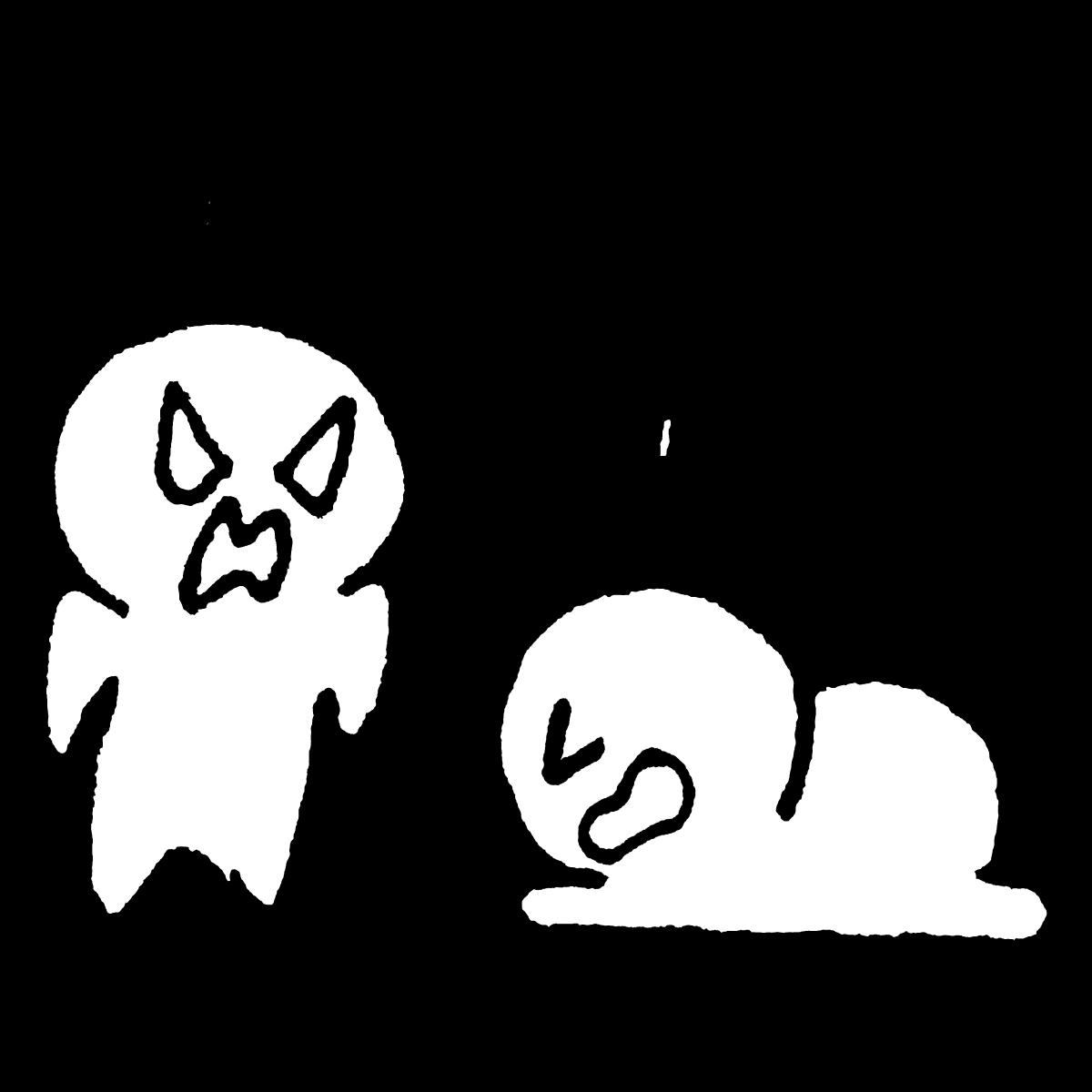 怒れられて土下座のイラスト / Down on one's knees in anger Illustration