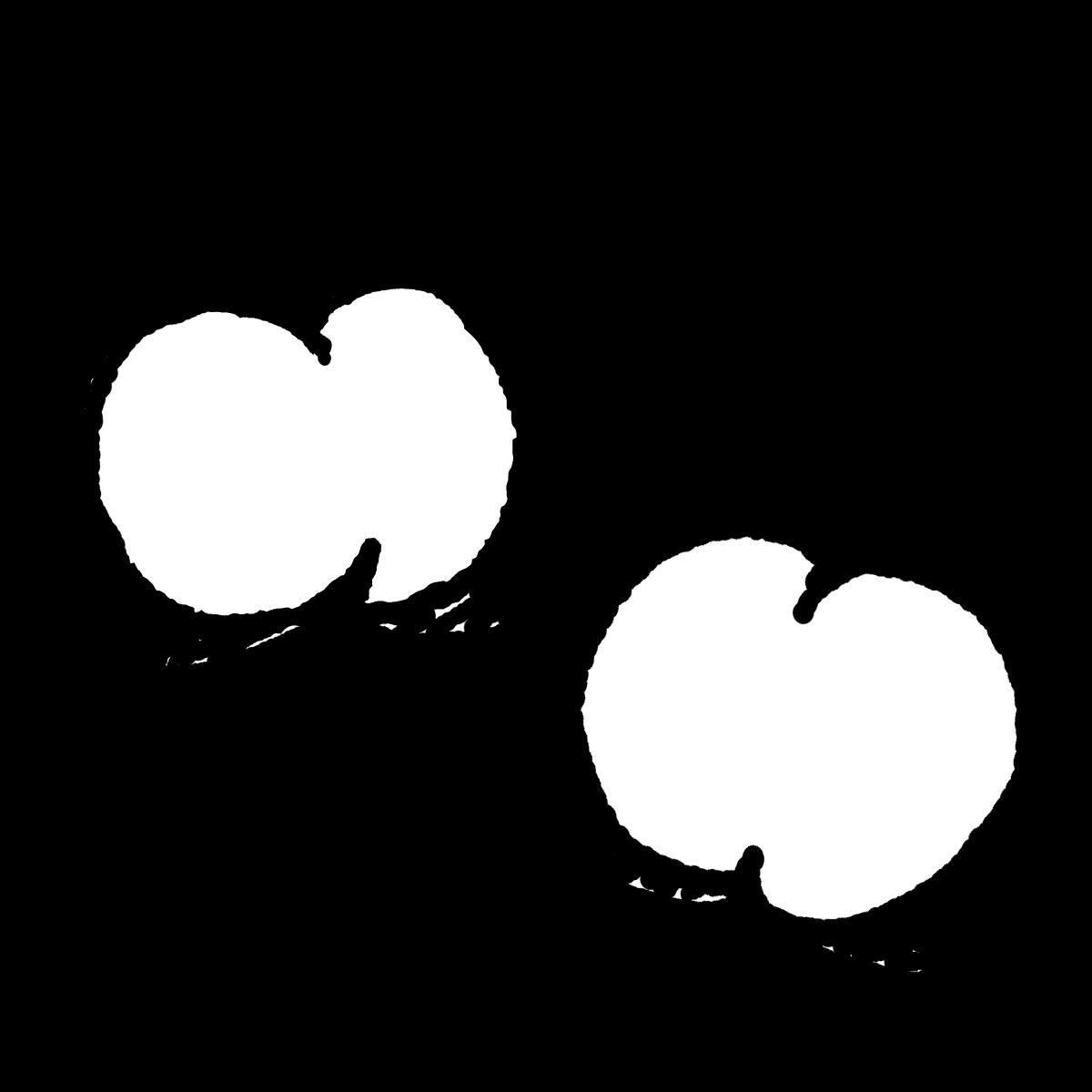 桃のイラスト / Peach Illustration