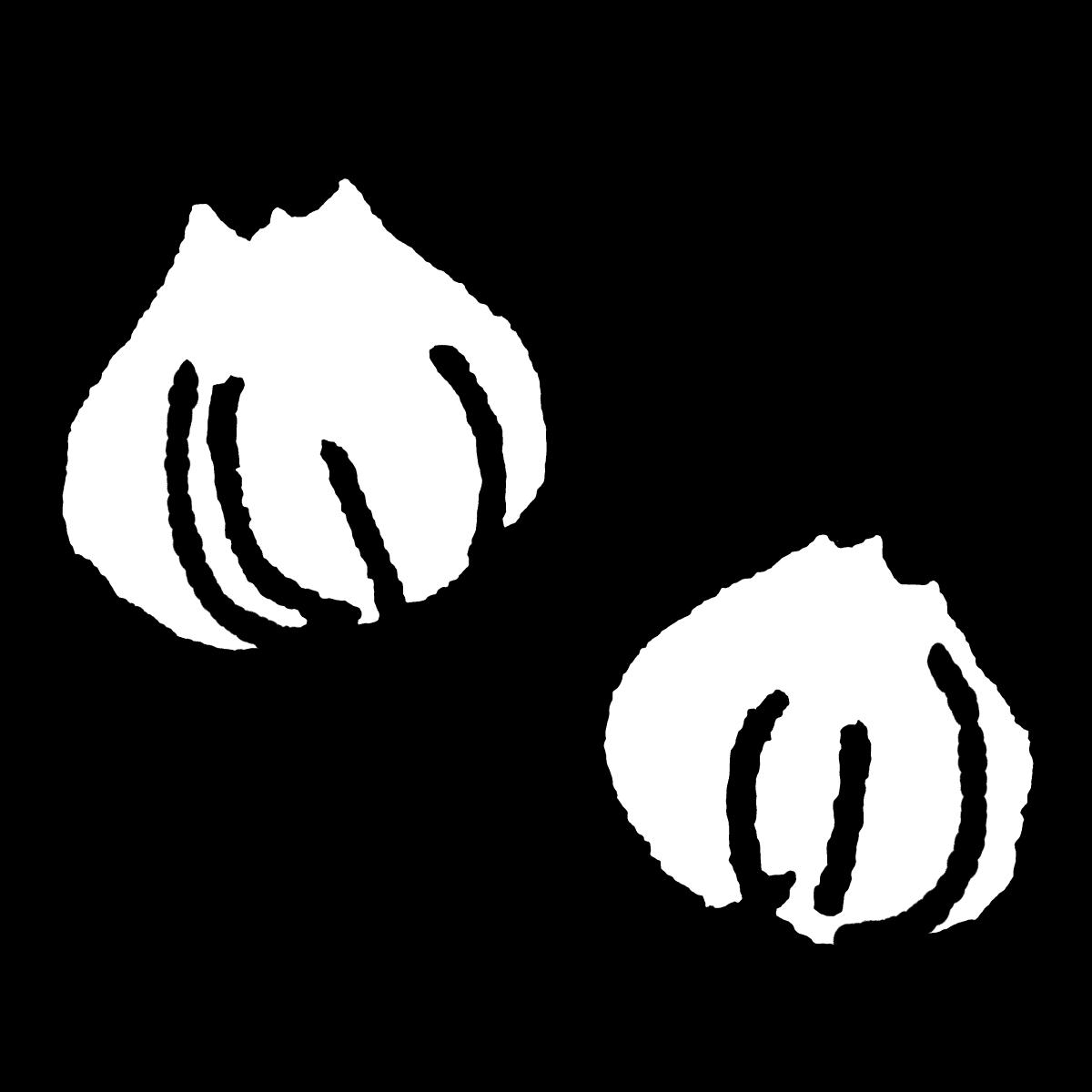 玉ねぎのイラスト / Onion Illustration