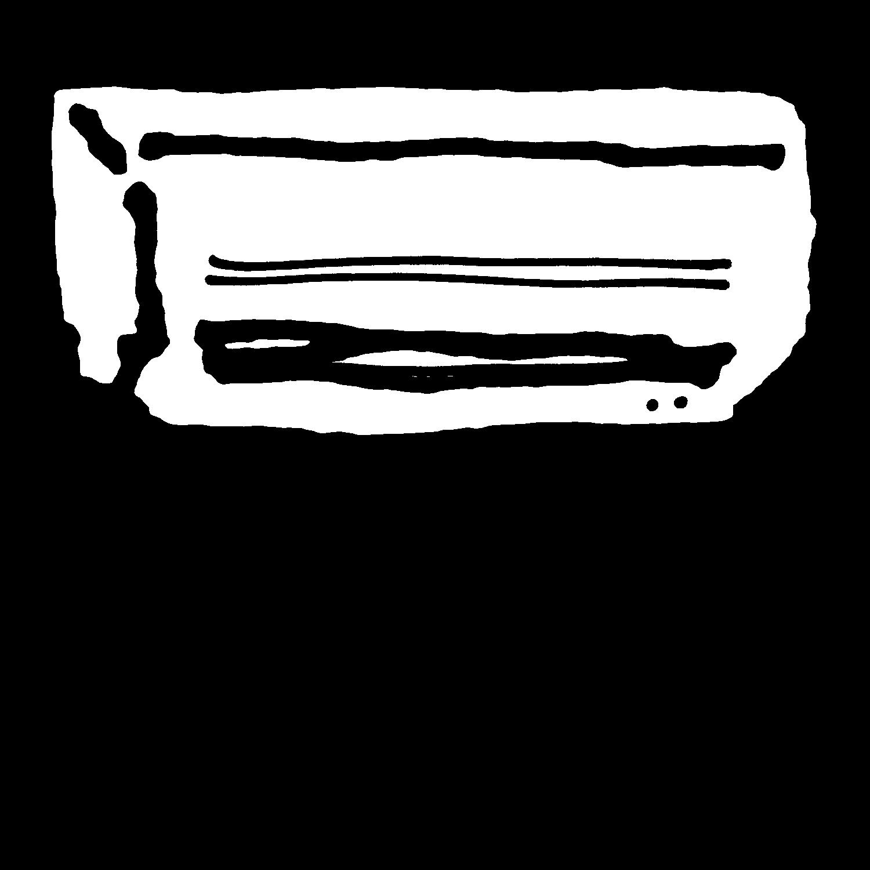 クーラー(2種)のイラスト / Cooler Illustration