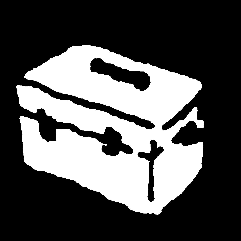 クーラーボックスのイラスト / Cooler box Illustration