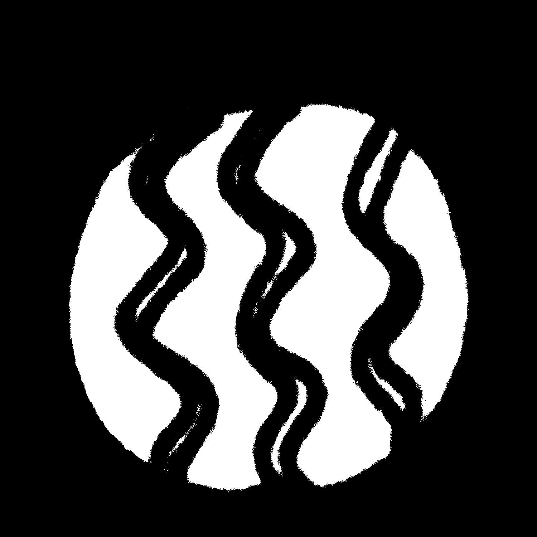 スイカのイラスト / Watermelon Illustration
