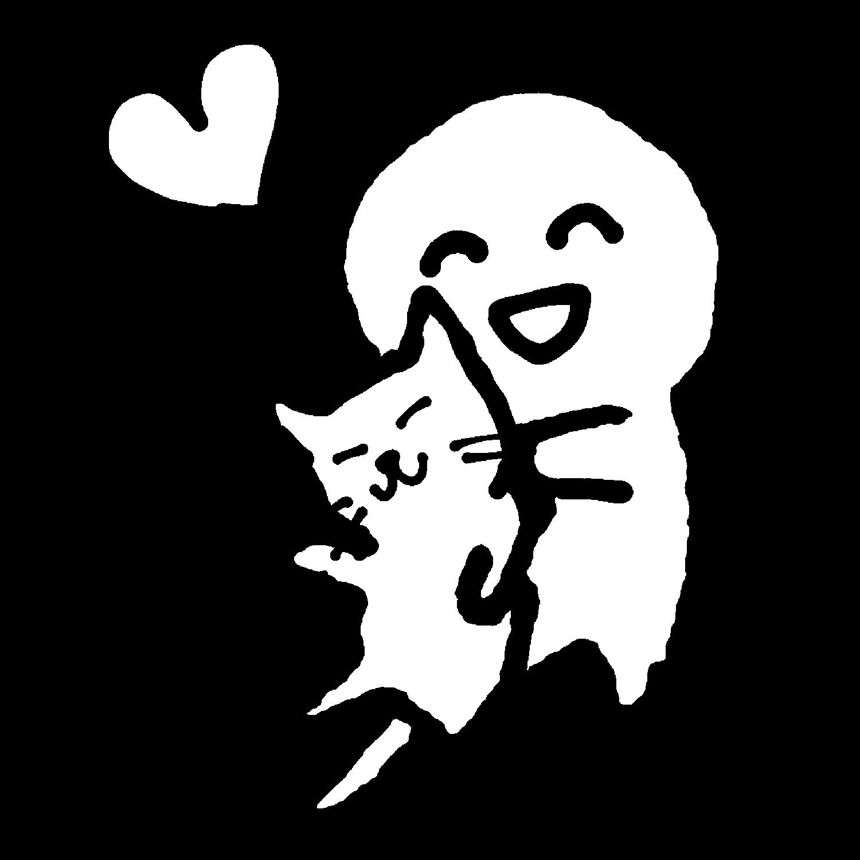 猫だいすき2のイラスト / I love cats Illustration