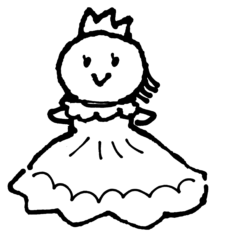 お姫様のイラスト / Princess Illustration