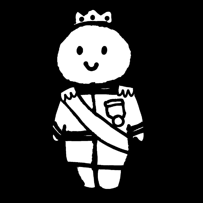 王子様のイラスト / Prince Illustration