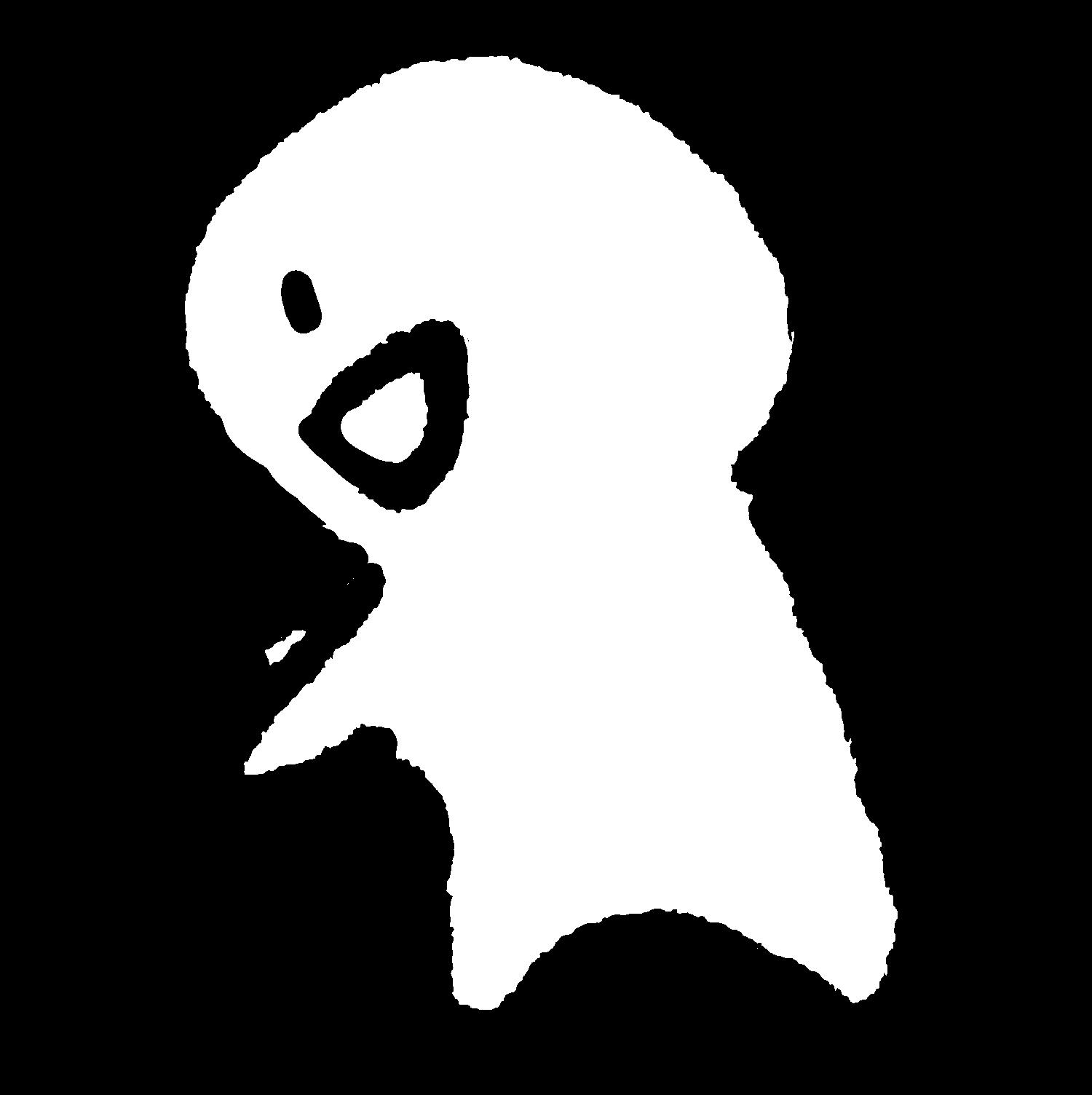 声をかけるのイラスト / Talk to someone Illustration