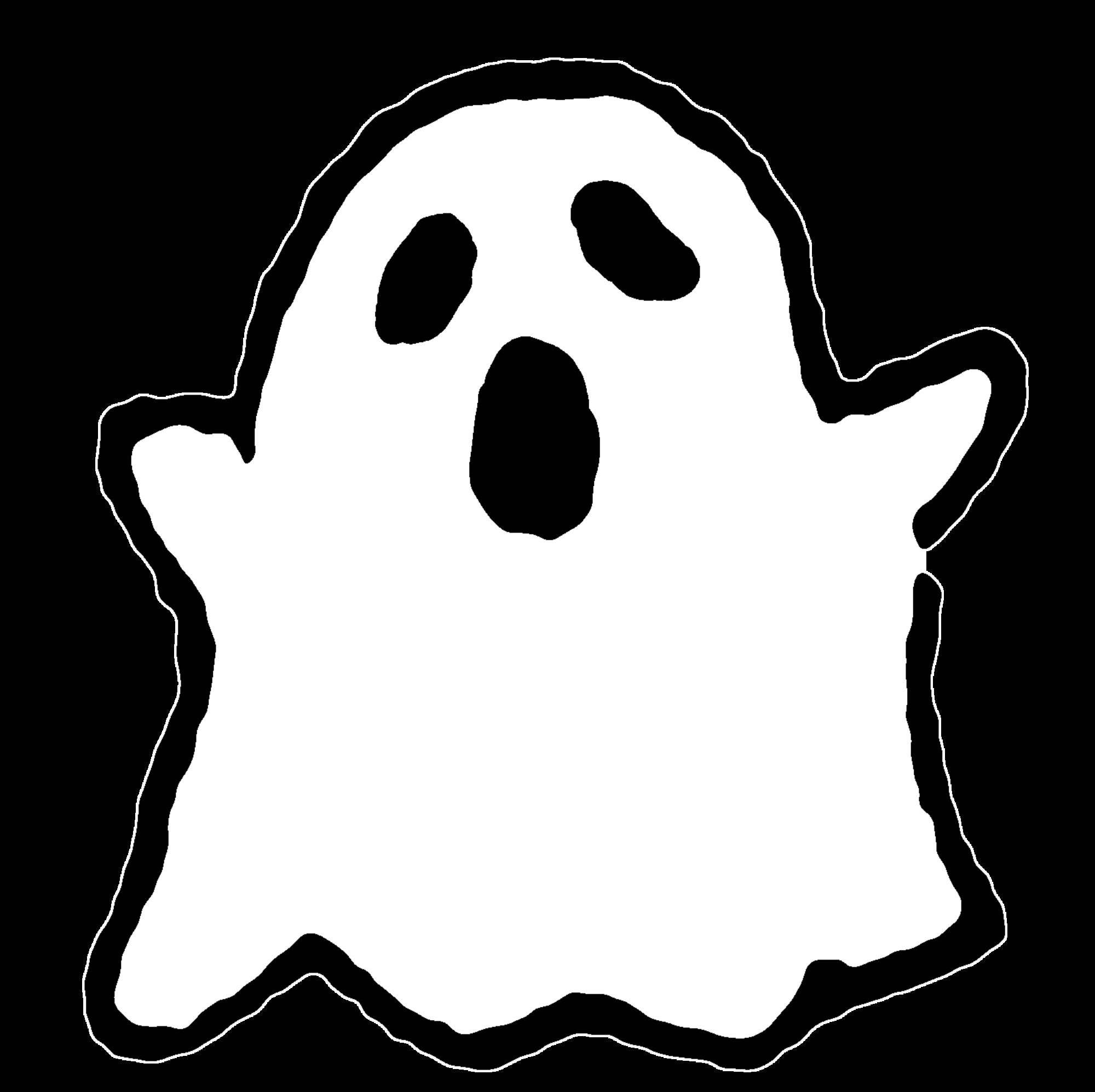 布のおばけ(2種)のイラスト / Cloth ghosts (2 types) Illustration