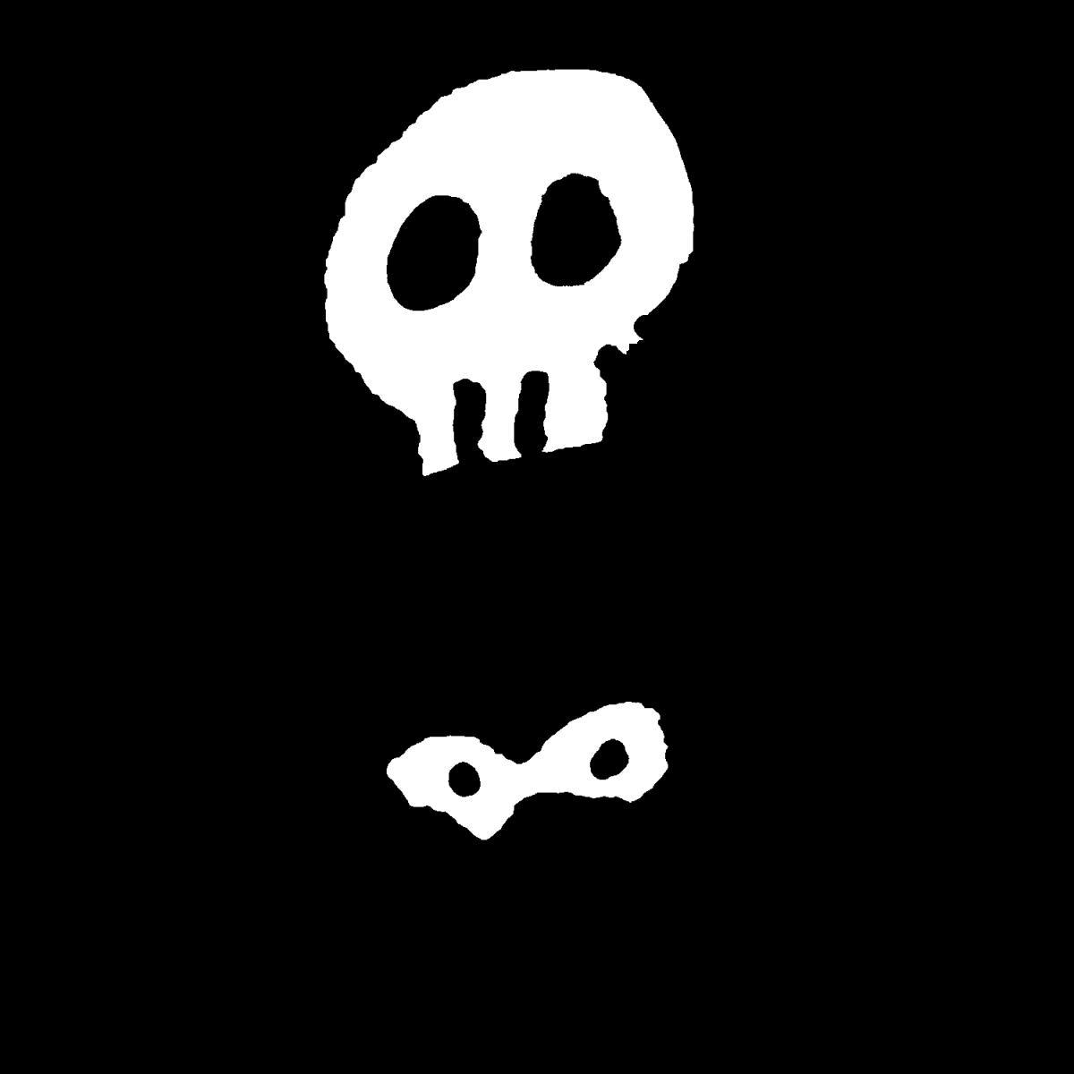 元気な骨のイラスト / Healthy bones Illustration
