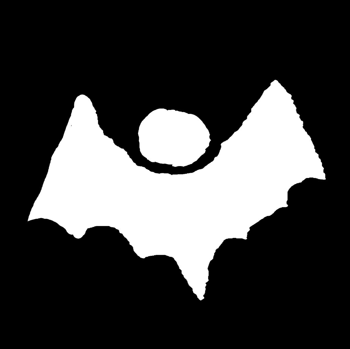 コウモリ(4種)のイラスト / Bats (4 types) Illustration