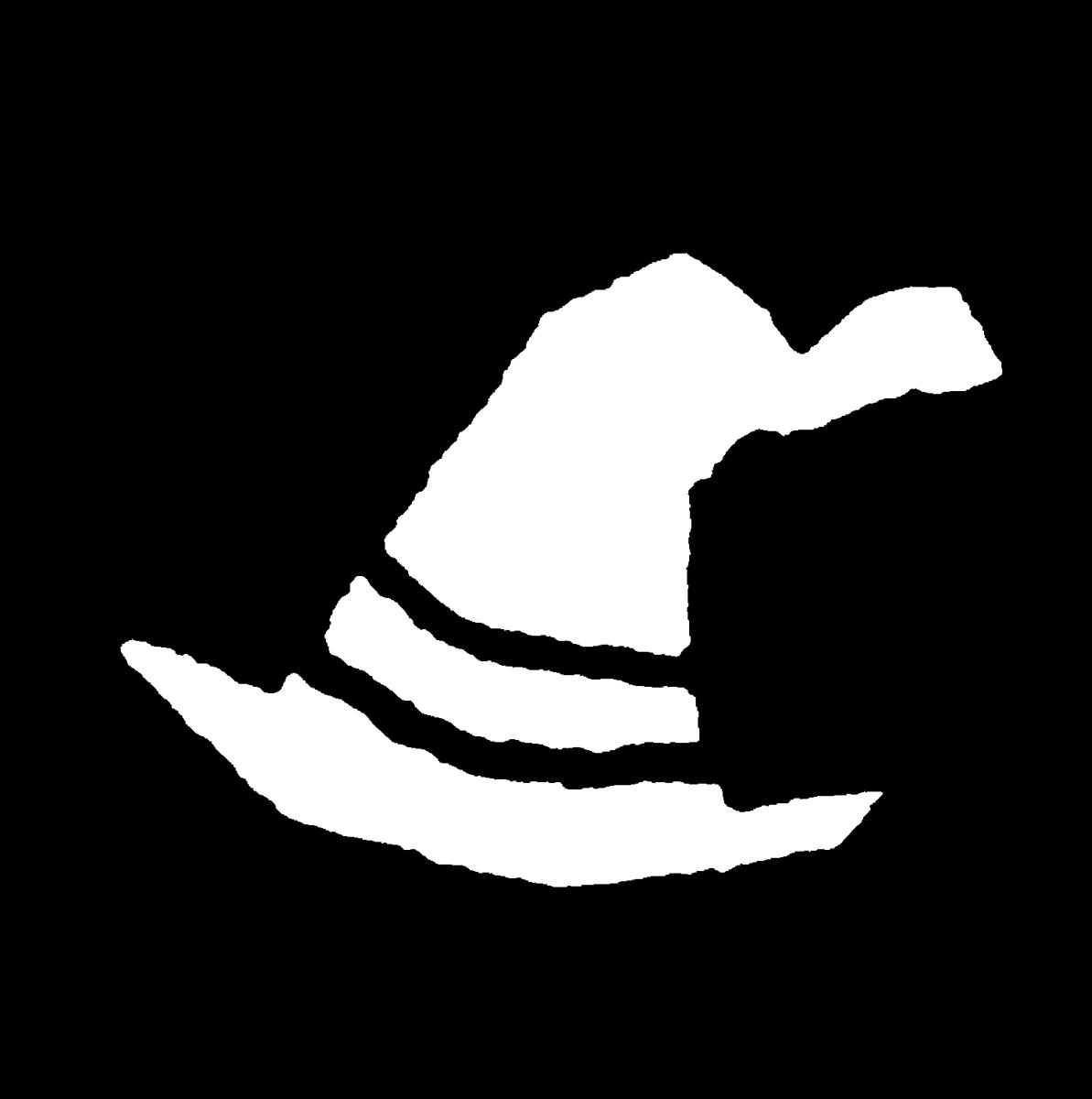魔女の帽子のイラスト / Witch's hat Illustration