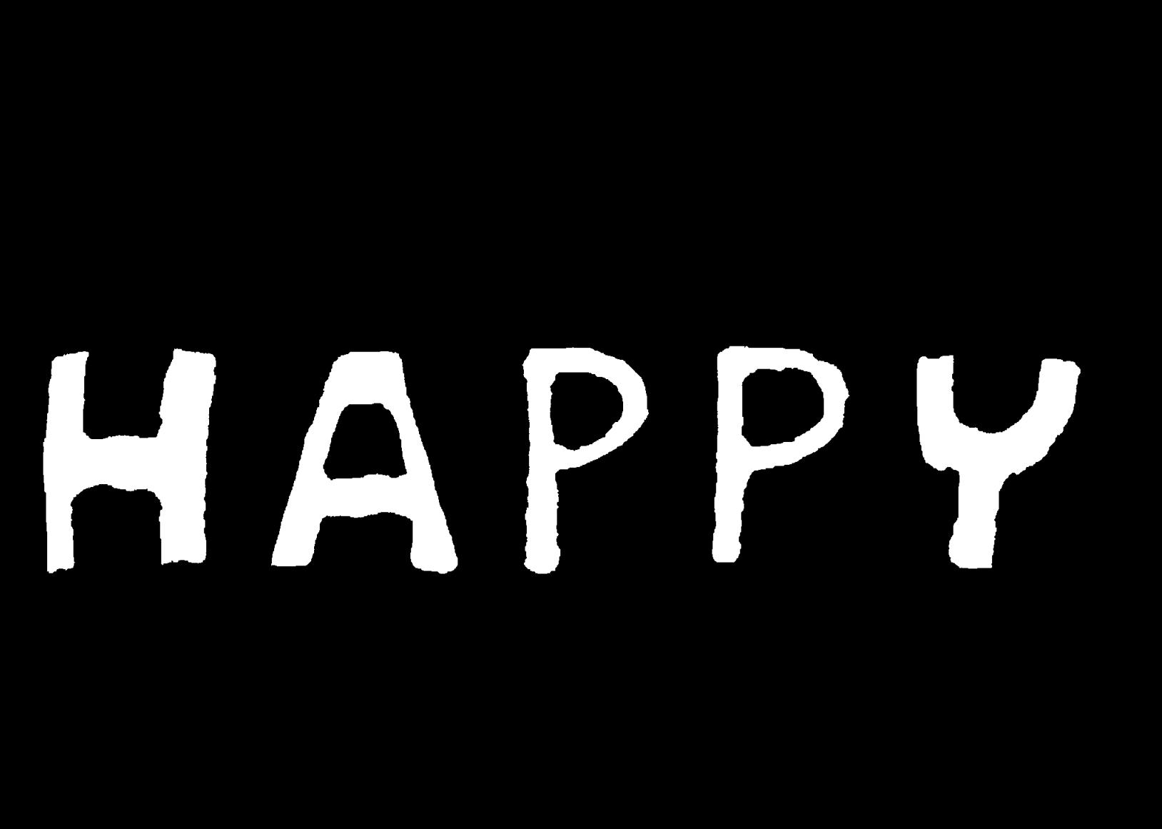 ハッピーのイラスト / HAPPY Illustration
